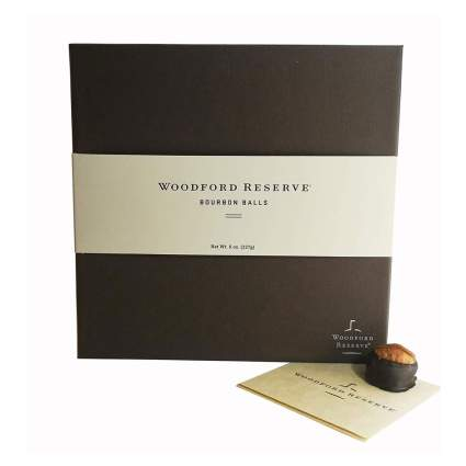Box of Woodford Reserve chocolates