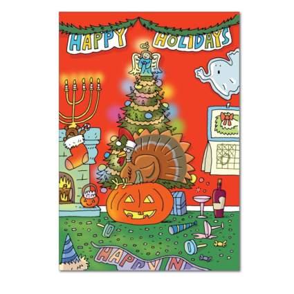 all holidays funny xmas card
