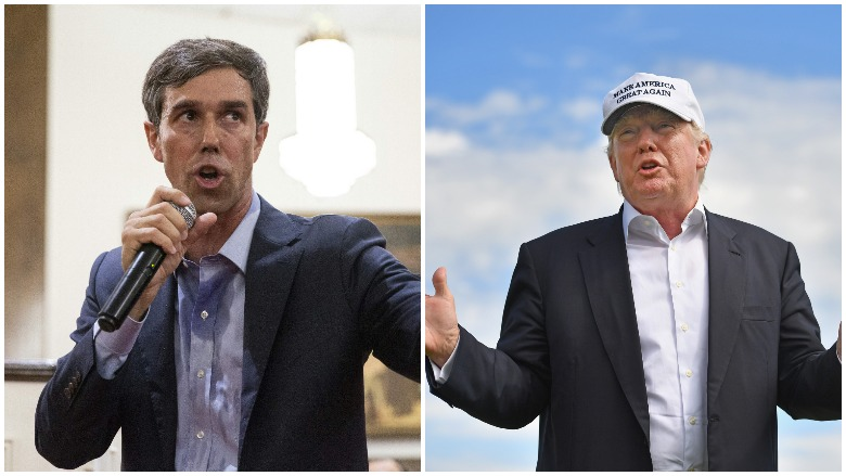 Beto O'Rourke vs. Donald Trump