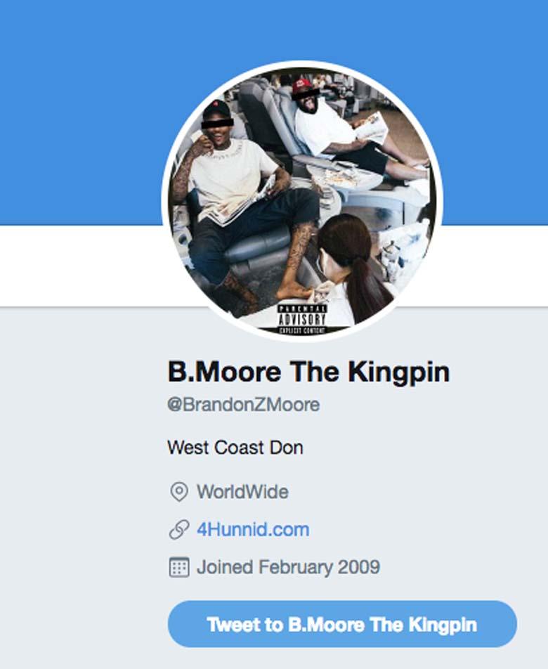Brandon Moore Twitter