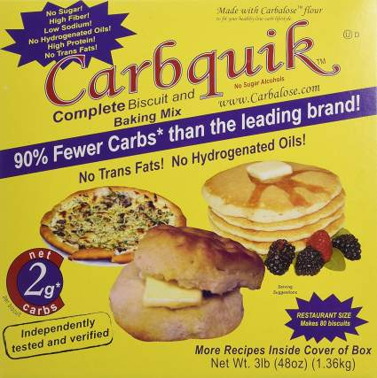 carbquik keto snacks