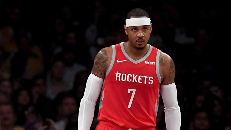 Best Available NBA Free Agents Carmelo Anthony