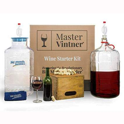 complete wine making kit
