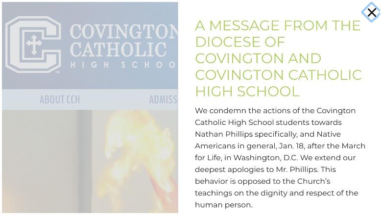 covington catholic high school