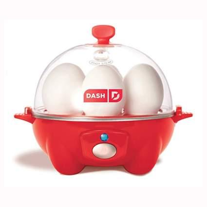 red rapid egg cooker