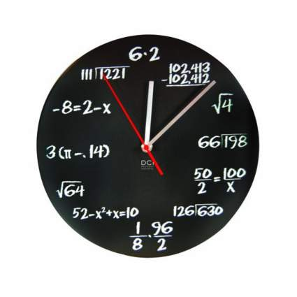 DCI pop quiz clock gag gifts for men