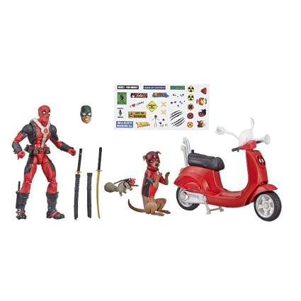 Deadpool Scooter Set