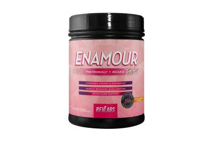 enamour pre workout supplement for women