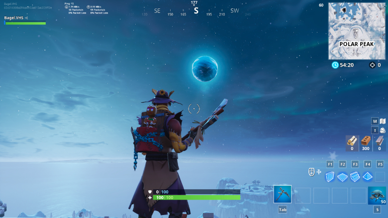 fortnite ice sphere