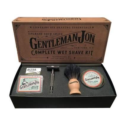 Gentleman Jon shave kit birthday gifts for boyfriend