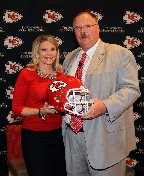 Andy Reid Wife