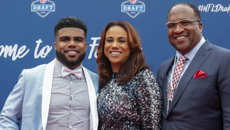 ezekiel elliott mom dad