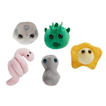 Plushie toys of microbes
