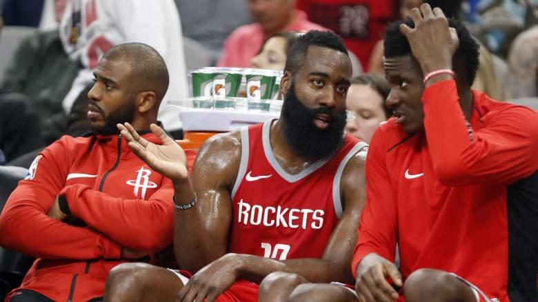 Rockets salary cap space Clint Capela trade
