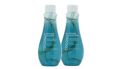 organic coconut water shampoo and conditioner
