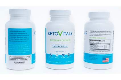 keto vitals electrolyte capsules