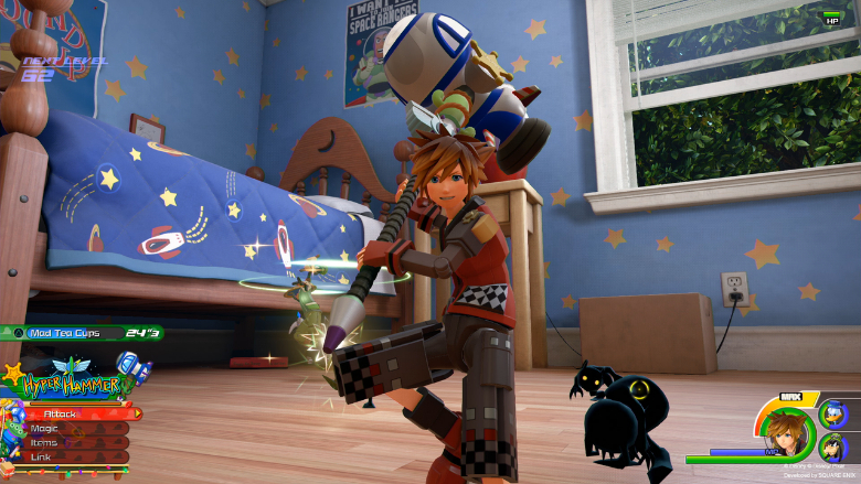 kingdom hearts 3 unlock keyblade