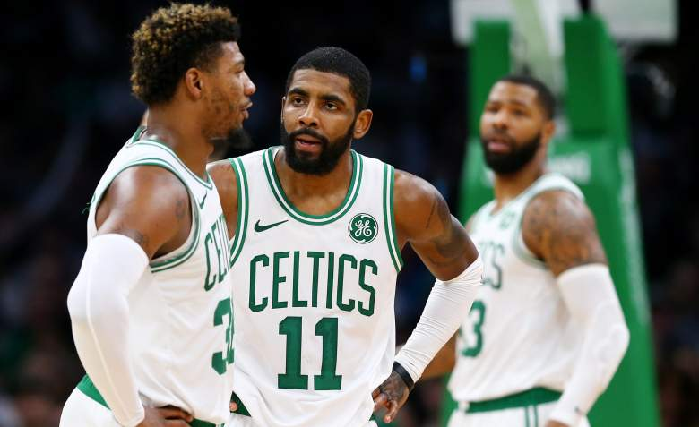 Kyrie Irving Marcus Smart