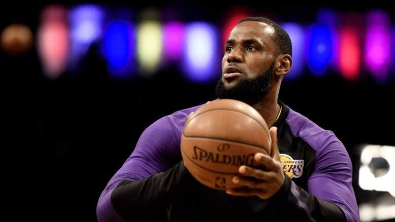 LeBron James Frank Vogel Lakers press conference