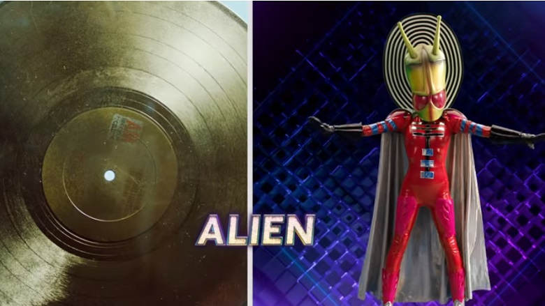The Masked Singer Alien