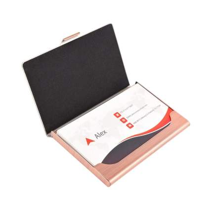 MaxGear business card holder business gifts