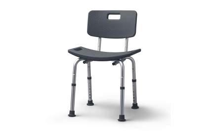 Dark grey shower chair