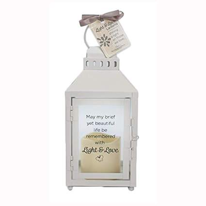 memory lantern with led candle
