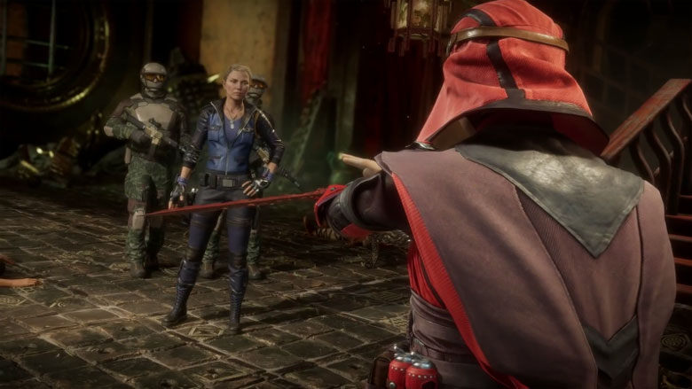 Mortal Kombat 11 Sonya Skarlet