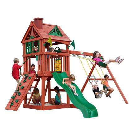 11 Best Wooden Playsets Your Er S