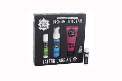 all natural tattoo aftercare kit