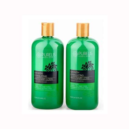 all natural hair growth shampoo and conditioner