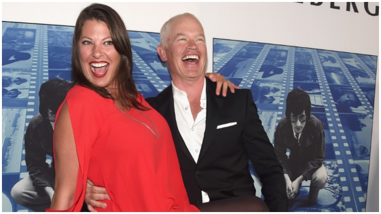 Neal McDonough with amusing, Wife Ruve Robertson