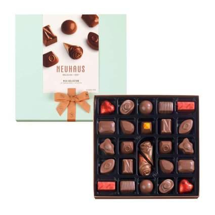 Box of Neuhaus chocolates