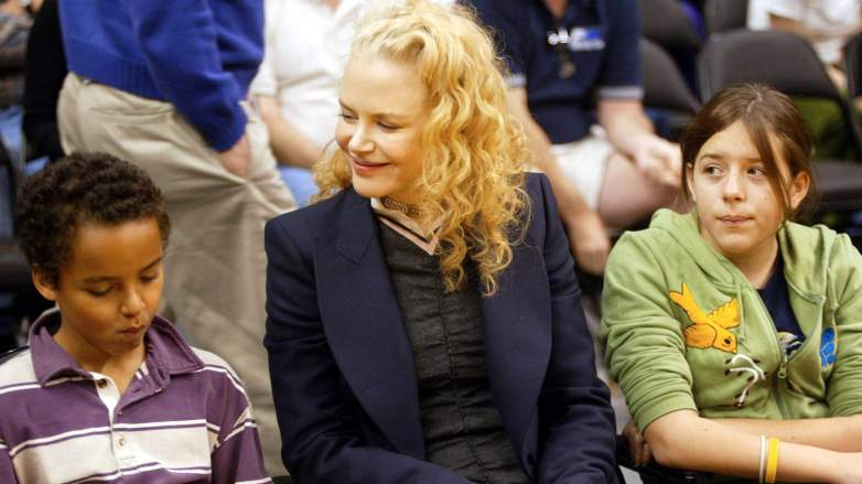 Nicole Kidman and children