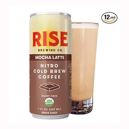 nitro cold brew mocha latte