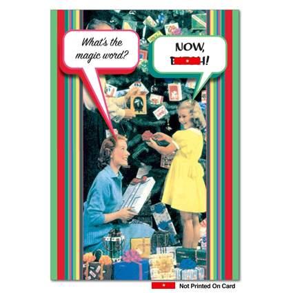 nowbitch funny xmas card