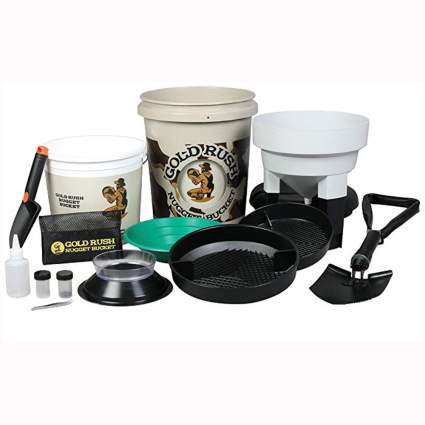 deluxe gold panning and prospecting kit