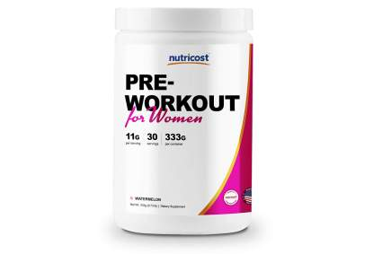 nutriboost pre workout for women