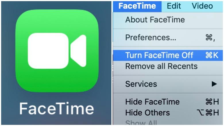 Turn Off FaceTime