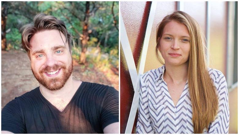 Michael Swearingin and Jenna Scott