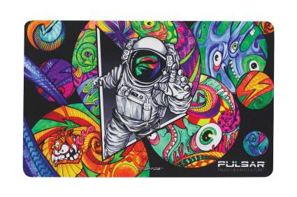 psychedelic dab mat