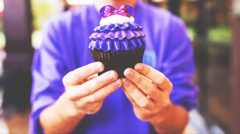 Potion Purple cupcake
