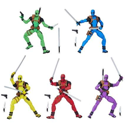 Rainbow Deadpool 5-Pack