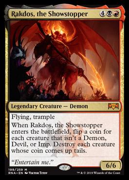 rakos the showstopper