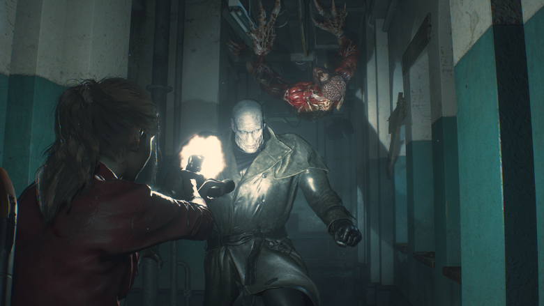 How To Defeat Tyrant Mr X In Resident Evil 2 Remake Heavy Com