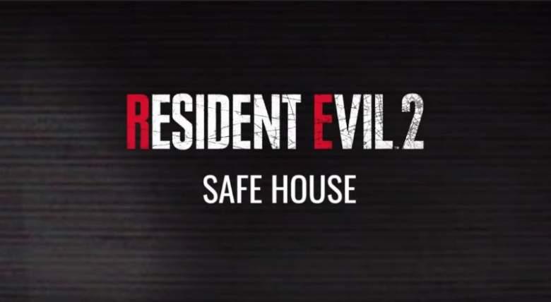 resident evil 2 safe house