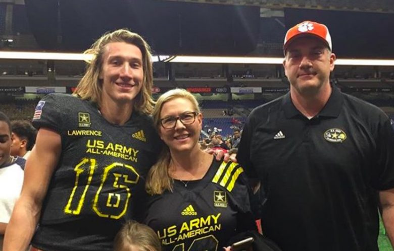 Trevor Lawrence parents