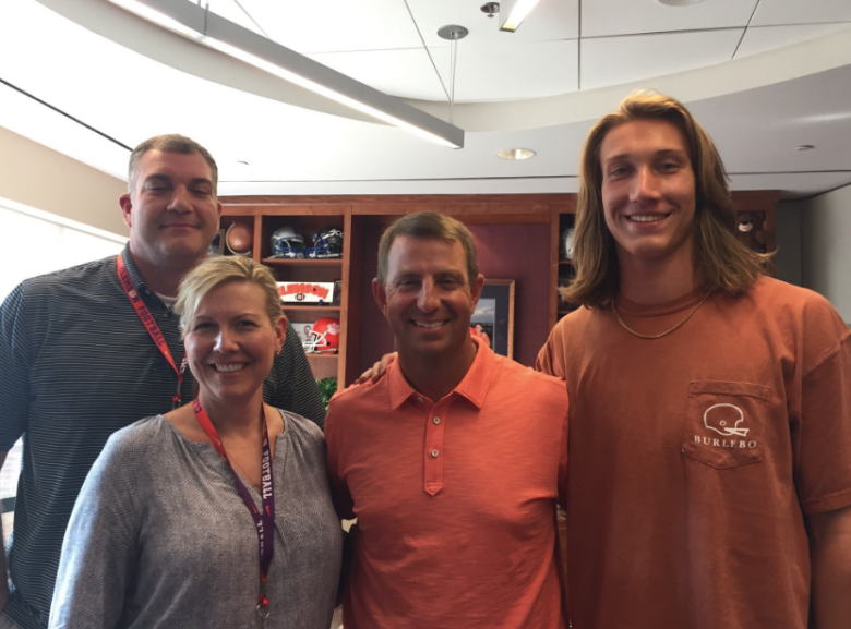 Trevor Lawrence father