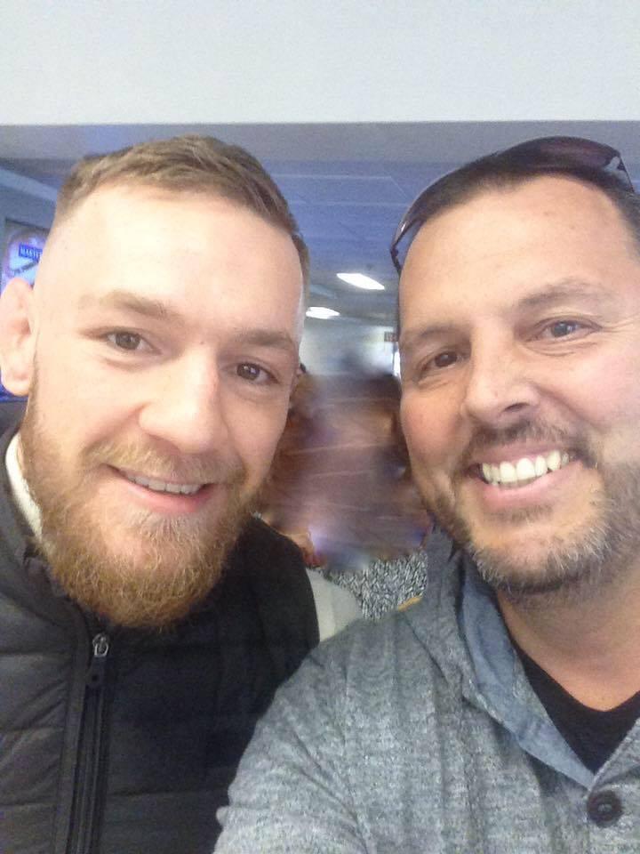Sean Dolan Conor McGregor Facebook