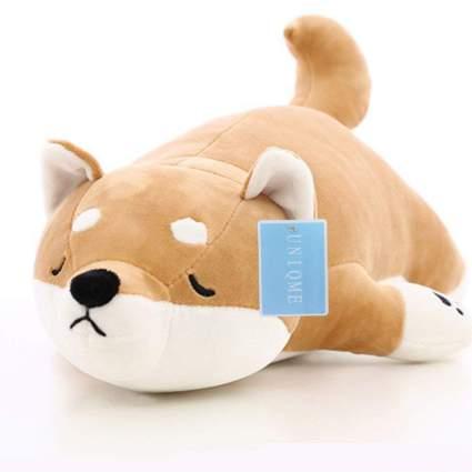 Shiba inu plush dog